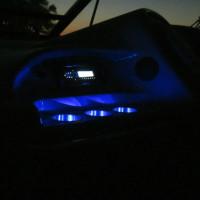ITC ITC Bekerhouder LED wit - inbouw - RVS