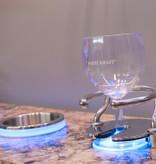 ITC ITC RVS Drinkbekerhouder - LED ring - Blauw - extern