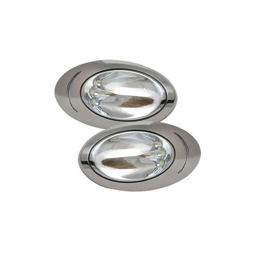 ITC ITC LED Docking Lights - RVS - per paar