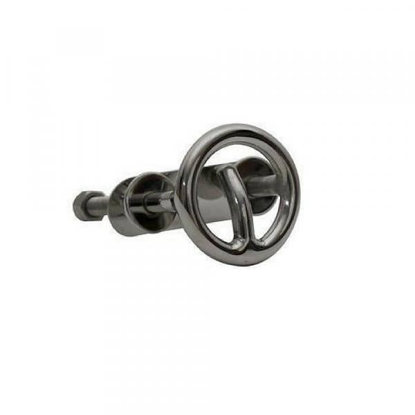 ITC RVS Waterski oog - 2,5 x 2,5 cm