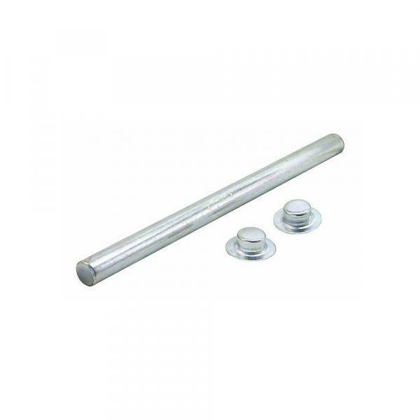 Roller Shaft verzinkt 13 mm * 15,9 cm past op 12,7 cm roller