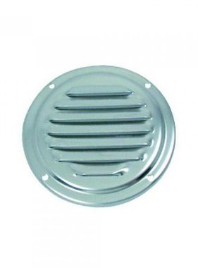Titan Marine Ventilation plate, round, SS, Ø 100 mm