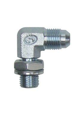 Lecomble & Schmitt Draaibare kniekoppeling staal 1/4 cilindrisch