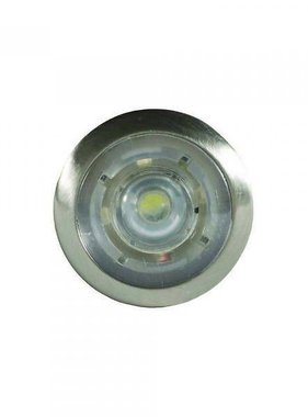 ITC LED-Knopfleuchte Courtesy - Weiß - Chrom