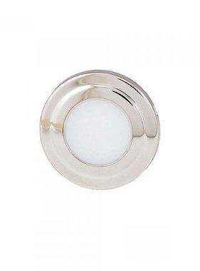 ITC Courtesy light Edelstahl LED Runde - Weiß/Blaue Kombination