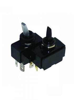 Boatersports Toggle Switch - Mom/Off/Mom (Not Illuminated)