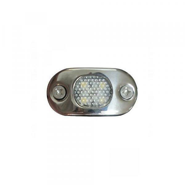 ITC ITC LED licht Courtesy - RVS - Warm Wit - Opbouw montage