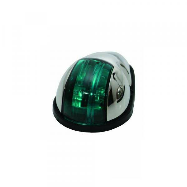 ITC RVS Navigatielicht Groen - Zijmontage