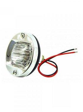 Transom Light - Round - SST - Halogen