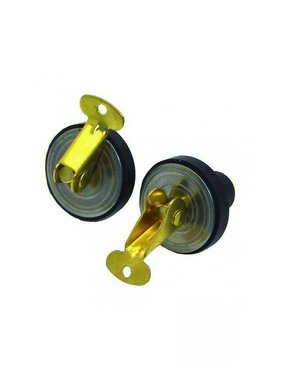 Boatersports Deck and Baitwell Plug  Ø 16 mm Pair