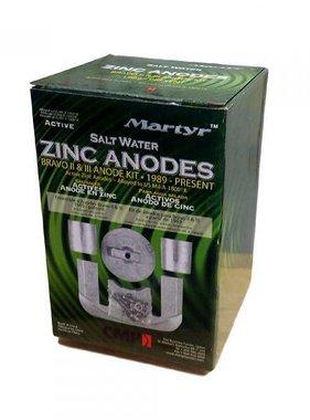 Martyr Anodes Mercruiser Anode Kit - Bravo 2-3 - ZN