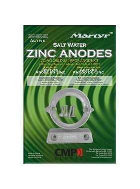 Martyr Anodes Volvo Penta Anode Kit 290-DP - ZN