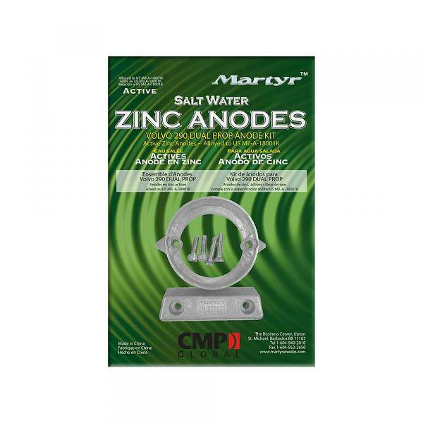 Martyr Anodes Volvo Penta Anode Kit 290 - ZN