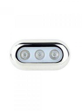 ITC LED-Unterwasserlichter - Blau - Edelstahl-Gehäuse