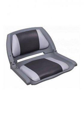 Titan Marine Copolymeer gevulde bootstoel, Grijs/Antraciet
