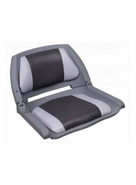 Titan Marine Copolymer Padded Boat Seat - Grey/Charcoal