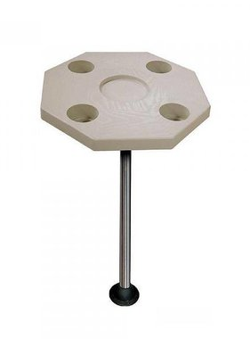 Boatersports Octagonal Table Top - Ivory colored - Ø 50,8 cm