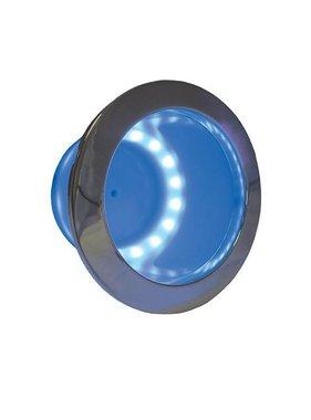 ITC Cup Holder LED Ring, blau, eingebaut, Edelstahl
