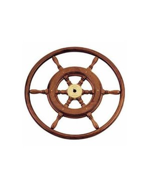 Savoretti Steering wheel T3B/46 - Mahogany Wood - Ø 46 cm
