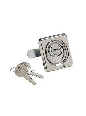 Boatersports Locking lift ring whith keys, SS 316