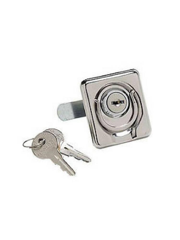 Boatersports Locking lift ring whith keys - SST 316