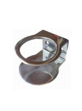 Titan Marine Stainless steel cupholder deluxe, Single