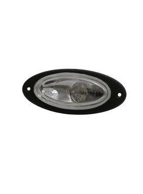 ITC Flush Mount Halogen Docking Light Black (Piece)