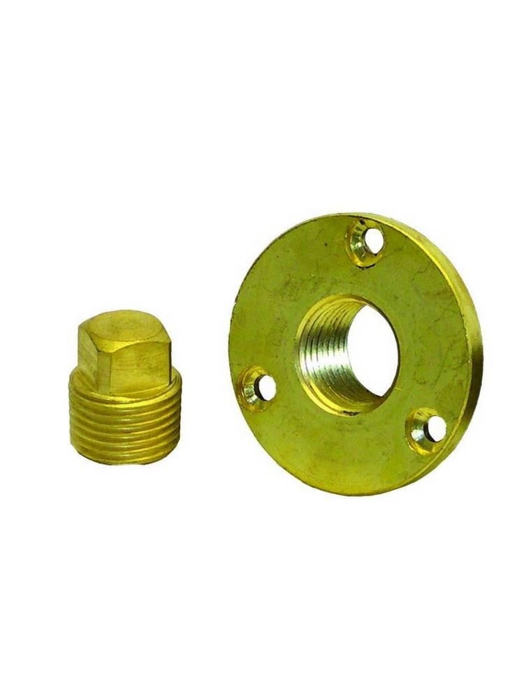 Titan Marine Garboard Plug Kit  - Messing