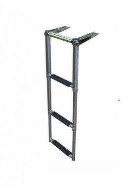 Titan Marine Tel. drop ladder with finger grip 3 step