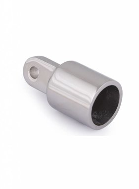 Titan Marine Endkappe Rohr mit Öse - Edelstahl - 22 mm