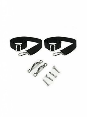 Navishade  Bimini Replacement strap Set Black