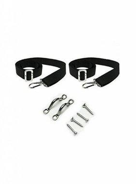 Navishade  Bimini Replacement strap Set Black
