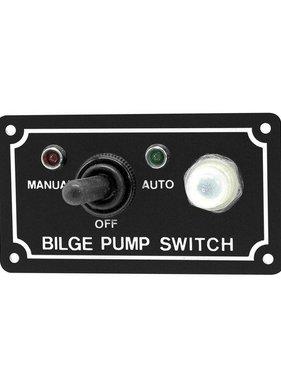 Easterner LED 3 way bilge pump switch panel