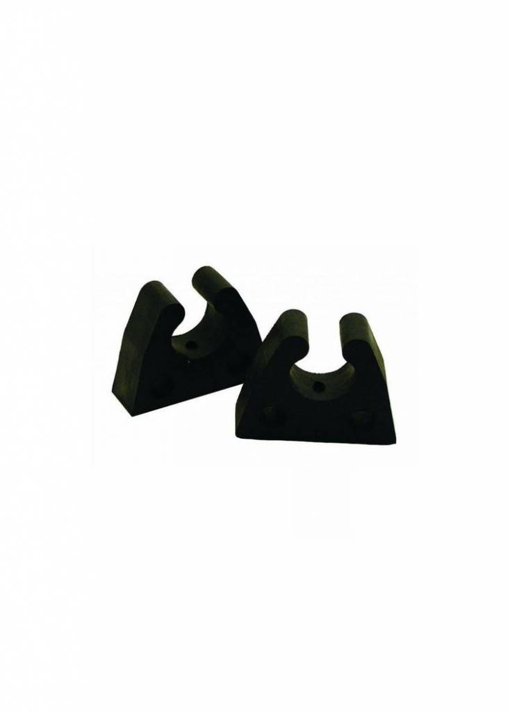 Boatersports Paallampen rubberen clips - per paar