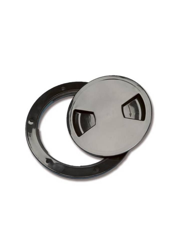 Inspection plug black 140mm