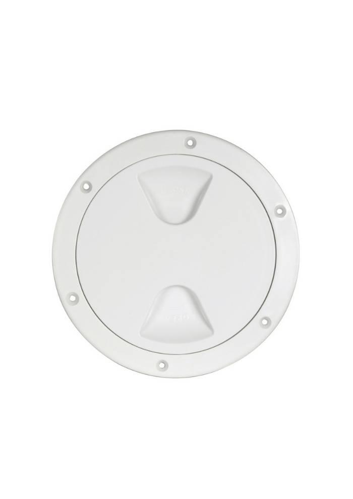 Inspection plug 205mm White