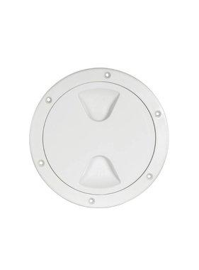 Inspection plug 140mm White