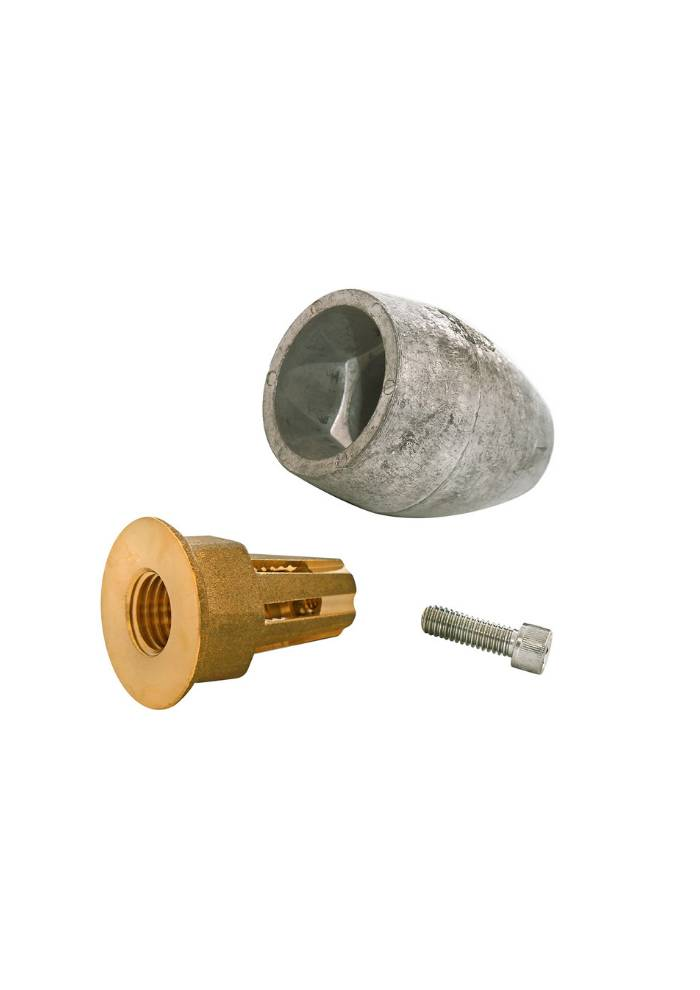 Martyr Anodes MERCURY ALPHA 1 & BRAVO I PROP NUT ASSBLY - MG