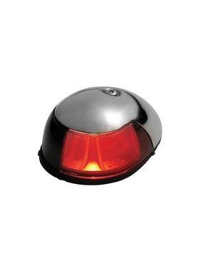 ITC SS Red Nav. Light. Deck mount