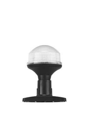Titan Marine All round LED-lampje - 10 cm met vaste kunststof voet - Zwart