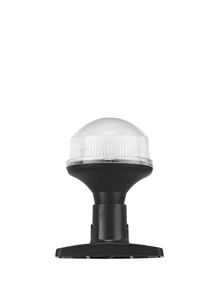 Titan Marine All round light LED, 10 cm with fixed plastic base black