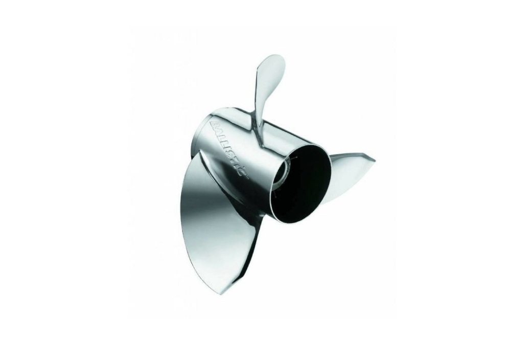 Miwheel Ballistic - Edelstahl - 3BL - 13-5/8 x 15p