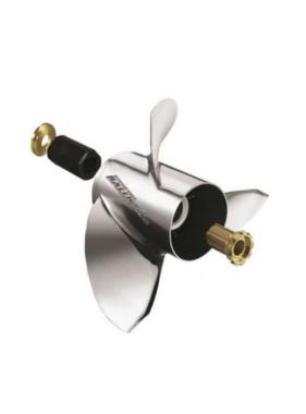 Michigan Wheel Propellers Miwheel Ballistic - Edelstahl - 3BL - 14-3/4 x17p