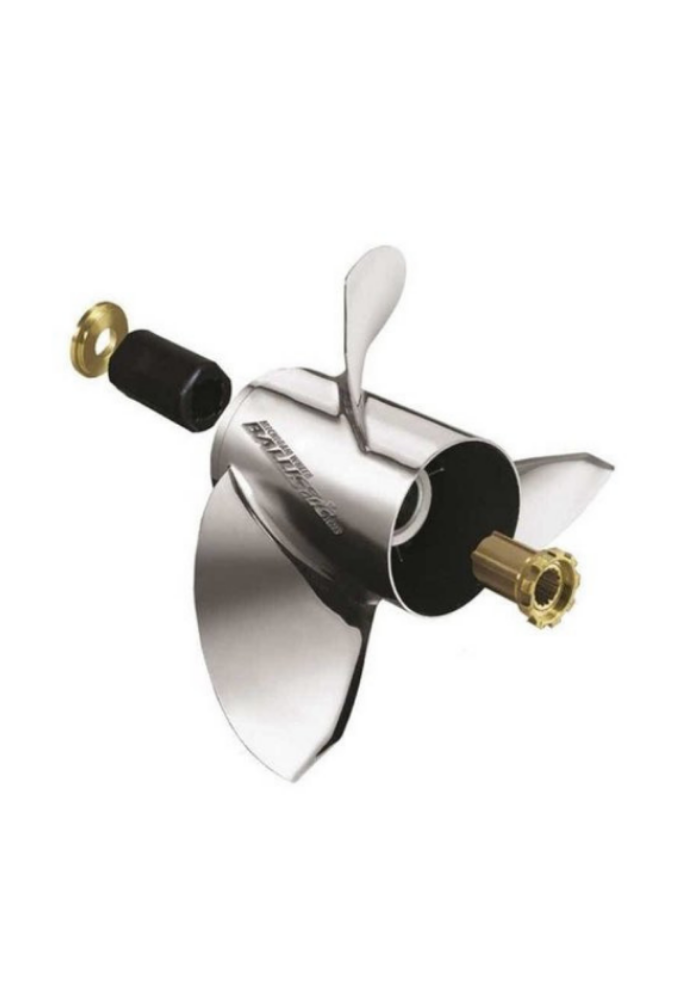 Miwheel Ballistic - SS - 3BL - 10-1/8 x 13p