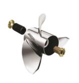 Michigan Wheel Propellers Miwheel Ballistic, SS, 4BL, 13-3/4 x25p XL