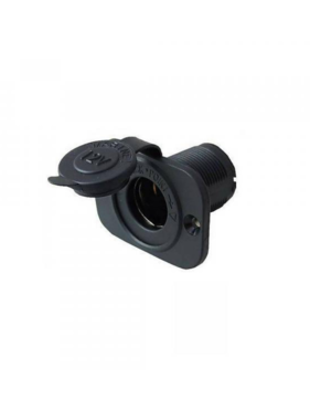 Titan Marine 12 V plug - square with quick ring - flush mount