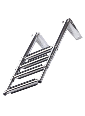 Titan Marine Telescopic ladder - SST 4 step - width: 254 mm
