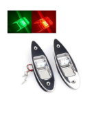 Titan Marine LED Rumpfmontage Positionslicht Edelstahl (Set)