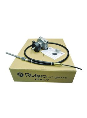 Riviera Steering system set - Titano Series KSG04 with steering cable 11 ft. / 3,35 meter