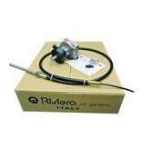 Riviera Steering system set - Titano Series KSG04 with steering cable 12 ft. / 3,66 meter